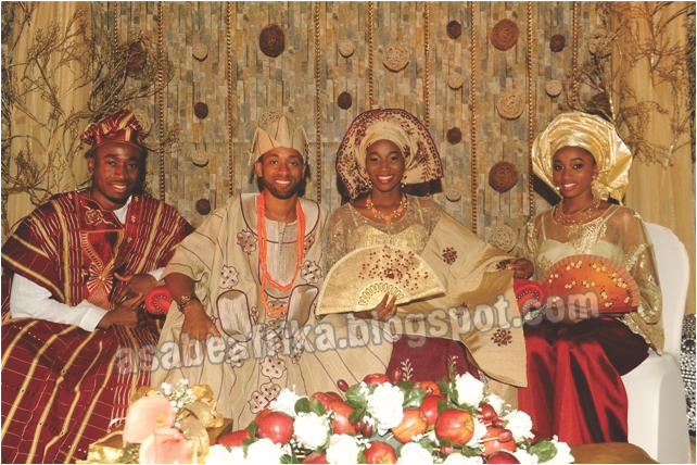 Part 2: Wedding of Prince Sunmade Akin-Olugbade's Car Designer Son with Billionaire Mike Adenuga's doctors's daughter in Lagos