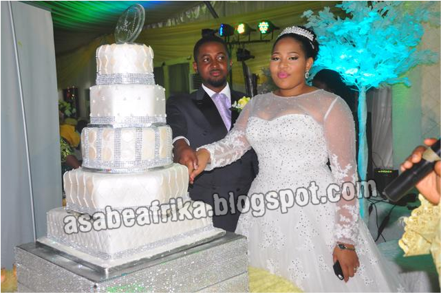 The Fairy Tale Wedding of Sen.  Simon Ajibola's Son, Wale With Oil Baroness Rose Osipitan's Daughter, Oyenike In Lagos (Part 2)