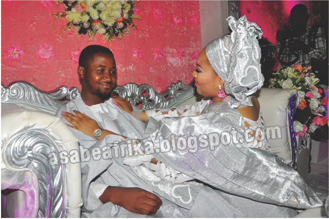 The Senator Ajibola and Princess Rose Osipitan Children's nuptial people are dying to read on this blog + Groom's Dad is a 4th term Senator and Bride's mum an oil baroness …How Sweet Sensation joined them together