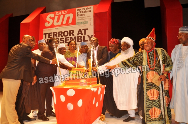 Scenes & Snippets from Sun Man of the Year Awards in Lagos | ….The Showstoppers & the Stage climbers…
