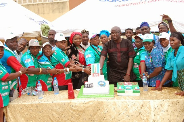 BSO Celebrates Buhari's Victory in Lagos   Calls for Election of 1st Female Deputy Speaker @ NASS