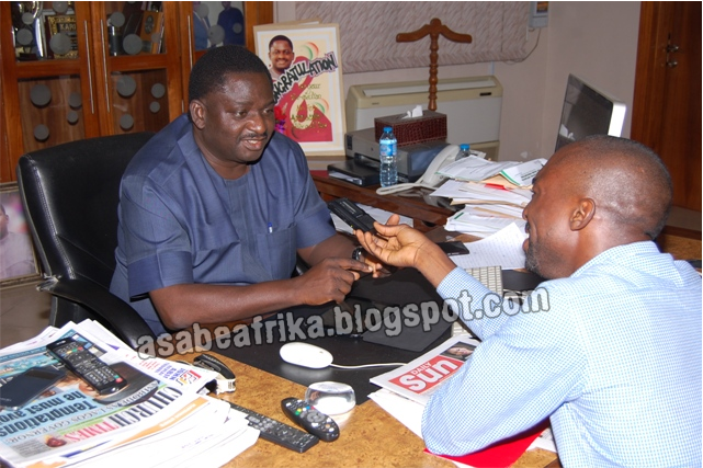 """Part 2 of Sun MD's Exclusive   Why I Love Pastor Kumuyi—Femi Adesina + """"What I will do if Buhari gives me an appointment"""""""