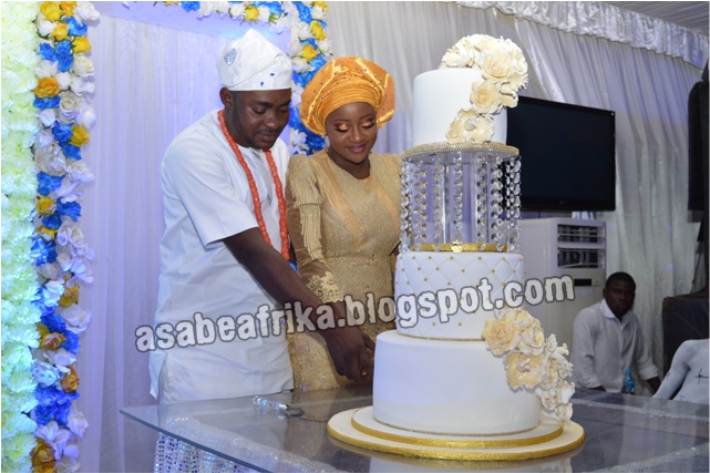 Gbenga Kaka's son's Wedding Part 2 | Couple shares Love story with Asabeafrika + More Exiting Pictures & gists from the talk-of-the-town Nikkai in Lagos