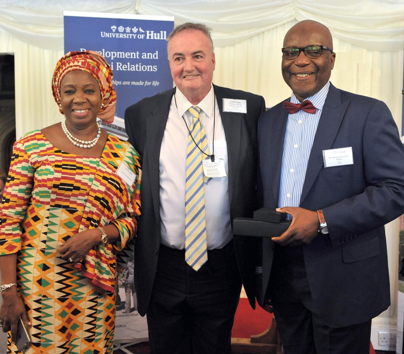 University of Hull Honours prominent Lawyer and Politician, Dr. Abdul-Rasaq Alimi with Laurate Award