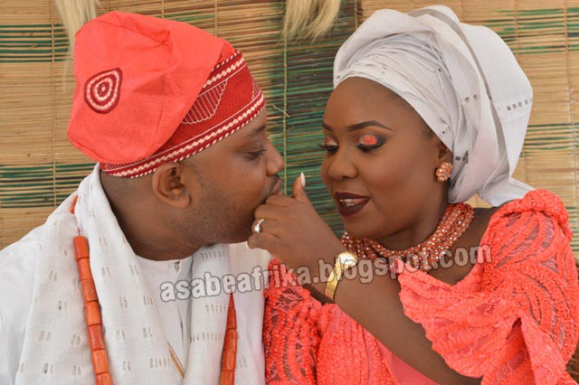 The Esajeres surpass themselves in organizing the 1st Wedding of the Year between Ebere & IK