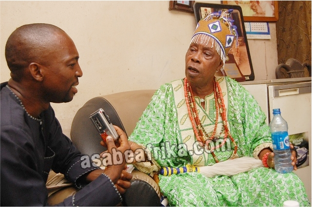 """Why I didn't do spiritual work for Jonathan—Egbeji of Nigeria, HRH Bola Adegunloye 