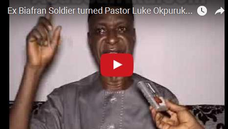 VIDEO:  Ex Biafran Soldier turned Pastor Luke Okpuruka on Lessons of Life @ 70