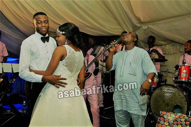 Exclusive Photos of K-1 De Ultimate's 1st Wedding Performance after 60th b'bash for the Asunkungbades & Dimlas in Lagos