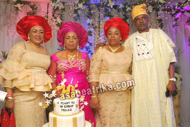 How celebrities graced Madam Grace Orisafele's 70th birthday bash in Lagos