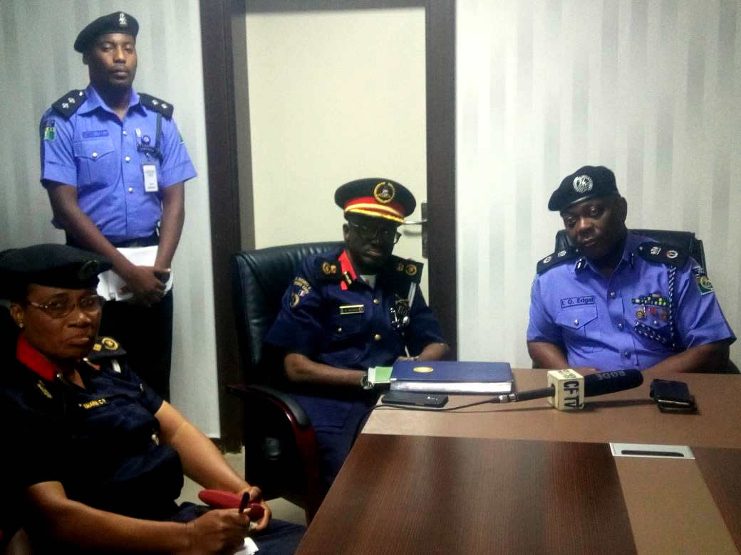 NSCDC boss in secret plan with Lagos CP, Edgal + How they plan to blow Badoo cult into pieces