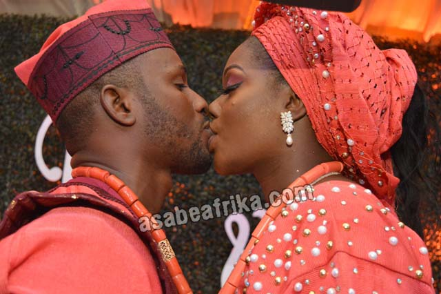 100 Lovey-Dovey shots of Abiola Ogundokun's Son's Nuptial with Ibadan Princess